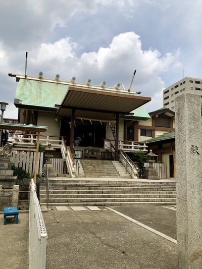 深川神明宮の本殿