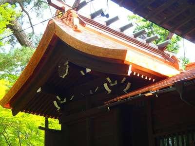 川中島古戦場八幡社の本殿
