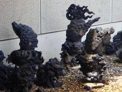 川中島古戦場八幡社の狛犬