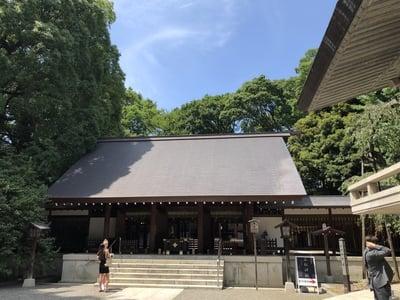 乃木神社の本殿