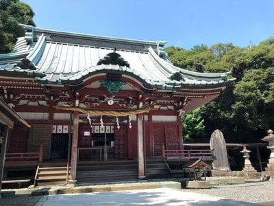 大頭龍神社の本殿