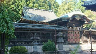 仙台東照宮の本殿
