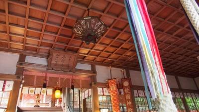 敢國神社の本殿