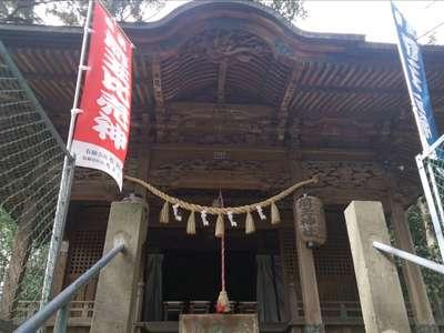 前玉神社の本殿