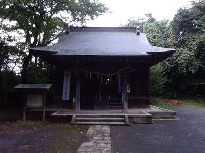 大谷八幡宮の本殿