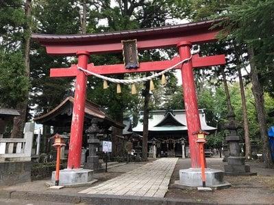 小室浅間神社の鳥居