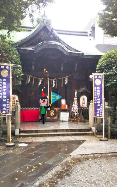 小野照崎神社の本殿