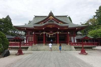 笠間稲荷神社の本殿