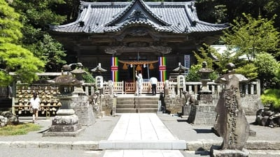 伊古奈比咩命神社の本殿