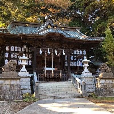 大甕倭文神社の本殿