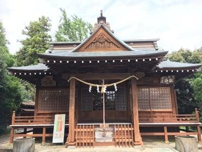 鹿島香取神社の本殿