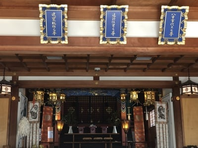 布忍神社の本殿
