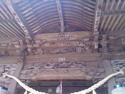 前玉神社の芸術
