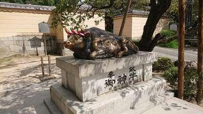 太宰府天満宮の狛犬