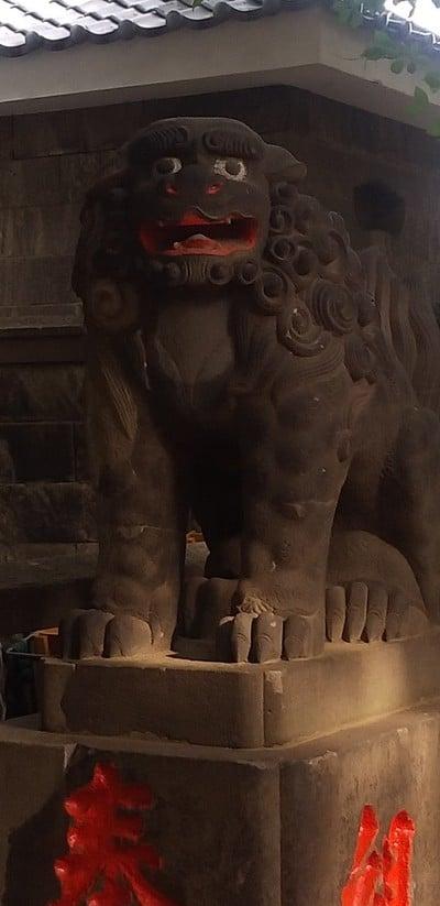 諏方神社の狛犬