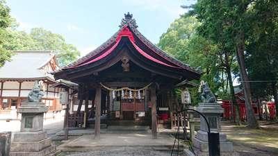 清州山王宮 日吉神社の本殿