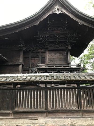 倉賀野神社の本殿