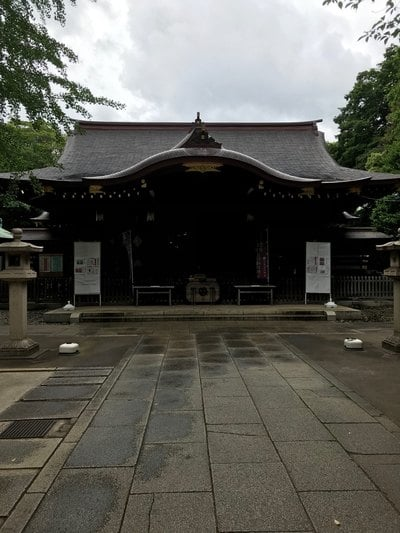 渋谷氷川神社の本殿