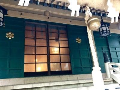 榊神社の本殿