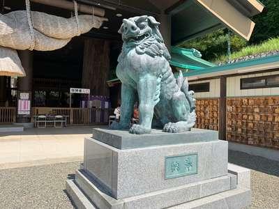 常陸国出雲大社の狛犬