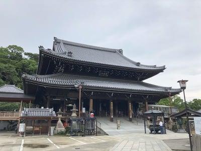 水間寺の本殿