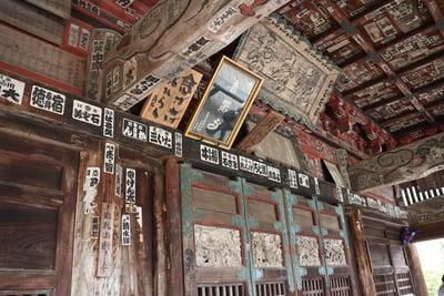 音楽寺の本殿
