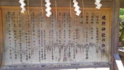 建勲神社の歴史