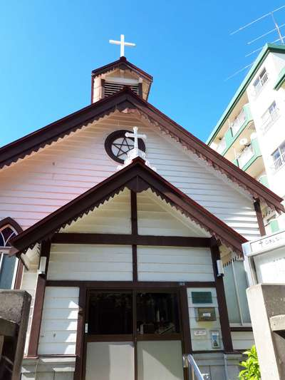 小樽聖公会の本殿