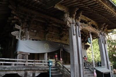岩屋寺の本殿