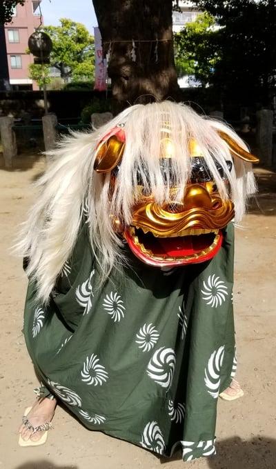海豊稲荷神社磐井神社境内摂社のお祭り