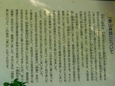 喪山天神社(大矢田神社境外摂社)の歴史
