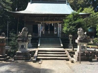 草薙神社の本殿