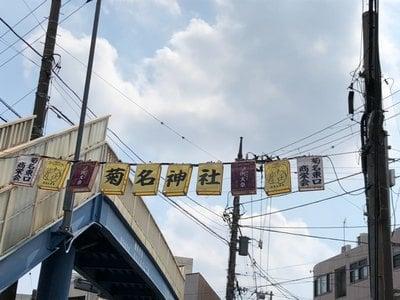 菊名神社の周辺