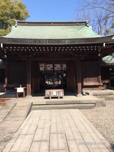 川越氷川神社の本殿