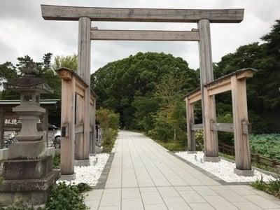 報徳二宮神社の鳥居