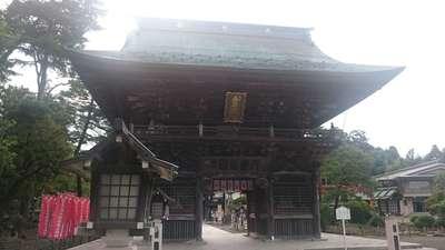 竹駒神社の山門