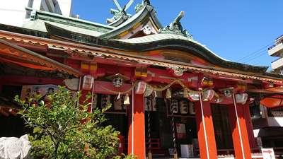 尼崎ゑびす神社の本殿
