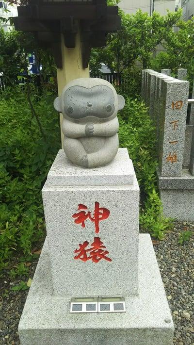 猿江神社の狛犬