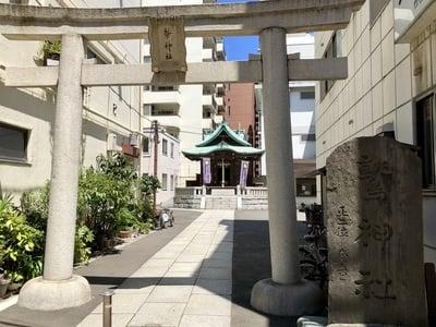 大森鷲神社の鳥居