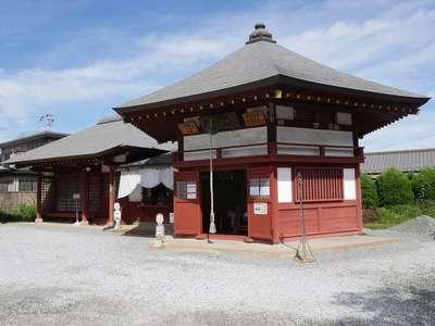 明星山明智寺の本殿