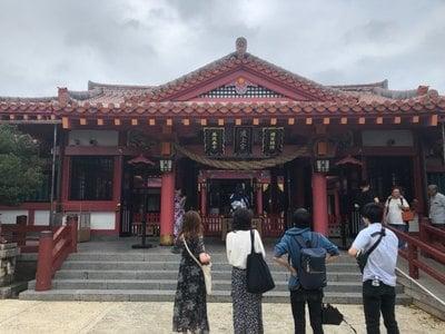 波上宮の本殿