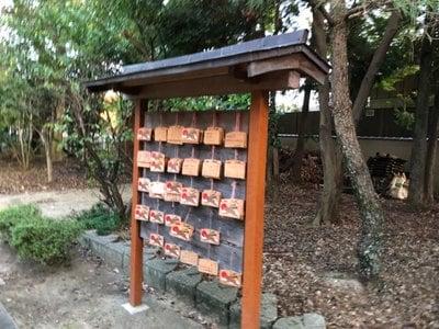 石田神社の絵馬