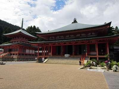 比叡山延暦寺の本殿