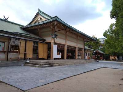 生國魂神社の本殿