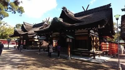 住吉大社の本殿