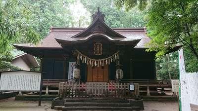 氷川女體神社の本殿