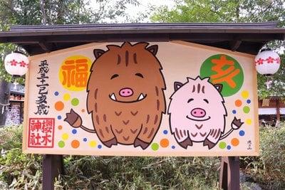 櫻木神社の絵馬