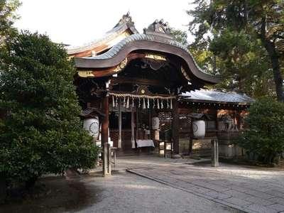 御霊神社(上御霊神社)の本殿