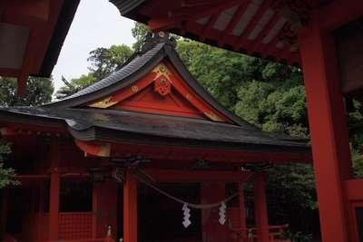 枚聞神社の本殿