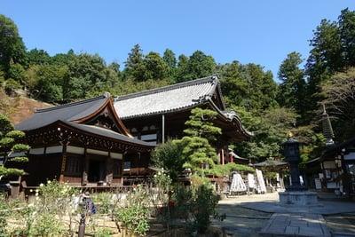 岡寺(龍蓋寺)の本殿